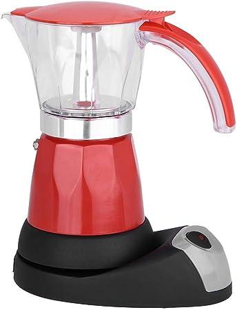 Cafetera exprés, 300 ml / 6 tazas 480 W eléctrica Moka Pot ...