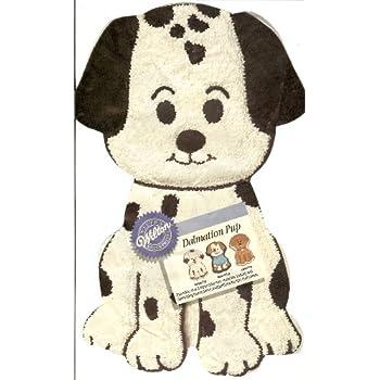 Amazon Com Wilton Dalmation Pup Puppy Dog Cake Pan 2105