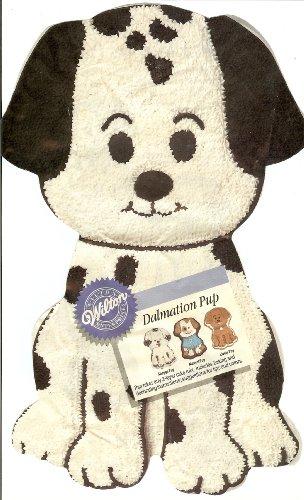 Wilton Dalmation Pup Puppy Dog Cake Pan (2105-9334, 1993)