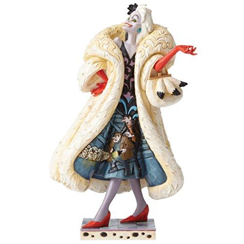 Jim Shore Disney Traditions Devilish Dognapper Cruella De Vil Figurine 4055440 -
