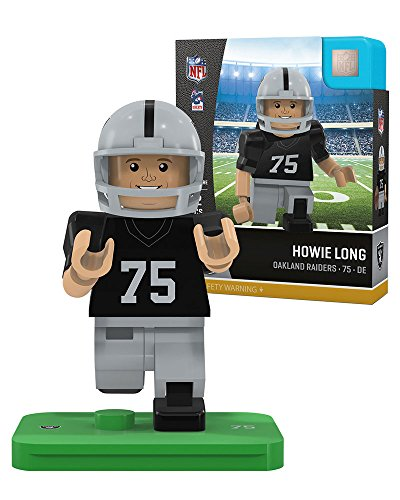 Oyo Sports P Nfloak75rl G4le Oakland Raiders Howie Long Retired Legend Limited Edition Oyo Minifigure