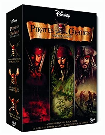 Pirates des Caraïbes - La trilogie [Francia] [DVD]: Amazon.es ...