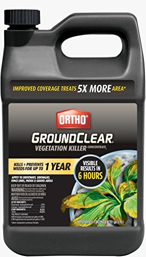 Ortho GroundClear Vegetation Killer Concentrate 1 GAL (Best Thing To Kill Weeds In Flower Beds)