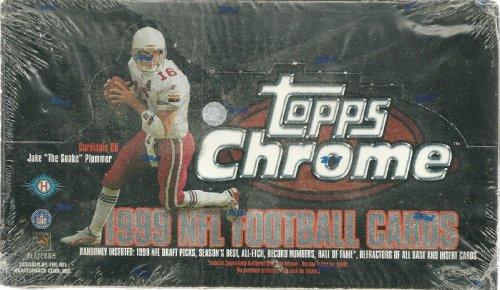 1999 Topps Chrome Football Sealed Box of 24 (1999 Topps Chrome Football)