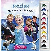 Frozen;LIBRO DE POSTERS PARA PINTAR: FROZEN