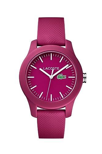 Lacoste 2000957 Lacoste.12.12 Lady - Reloj analógico de pulsera para mujer: Lacoste: Amazon.es: Relojes