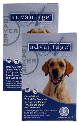 Advantage Flea Control for Dogs 55+ lbs., My Pet Supplies