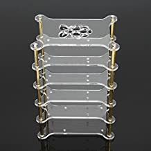 ILS - Clear Acrylic 5 Layer Cluster Case Shelf Stack For Raspberry Pi 3/2 B and B+