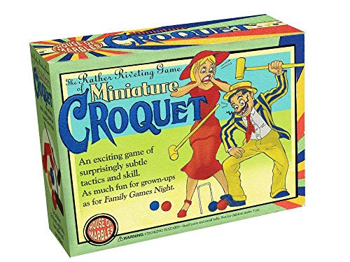 Miniature Table Croquet