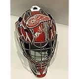 Petr Mrazek Signed Full-size Detroit Red Wings Goalie Mask Helmet Proof - Autographed NHL Helmets and Masks