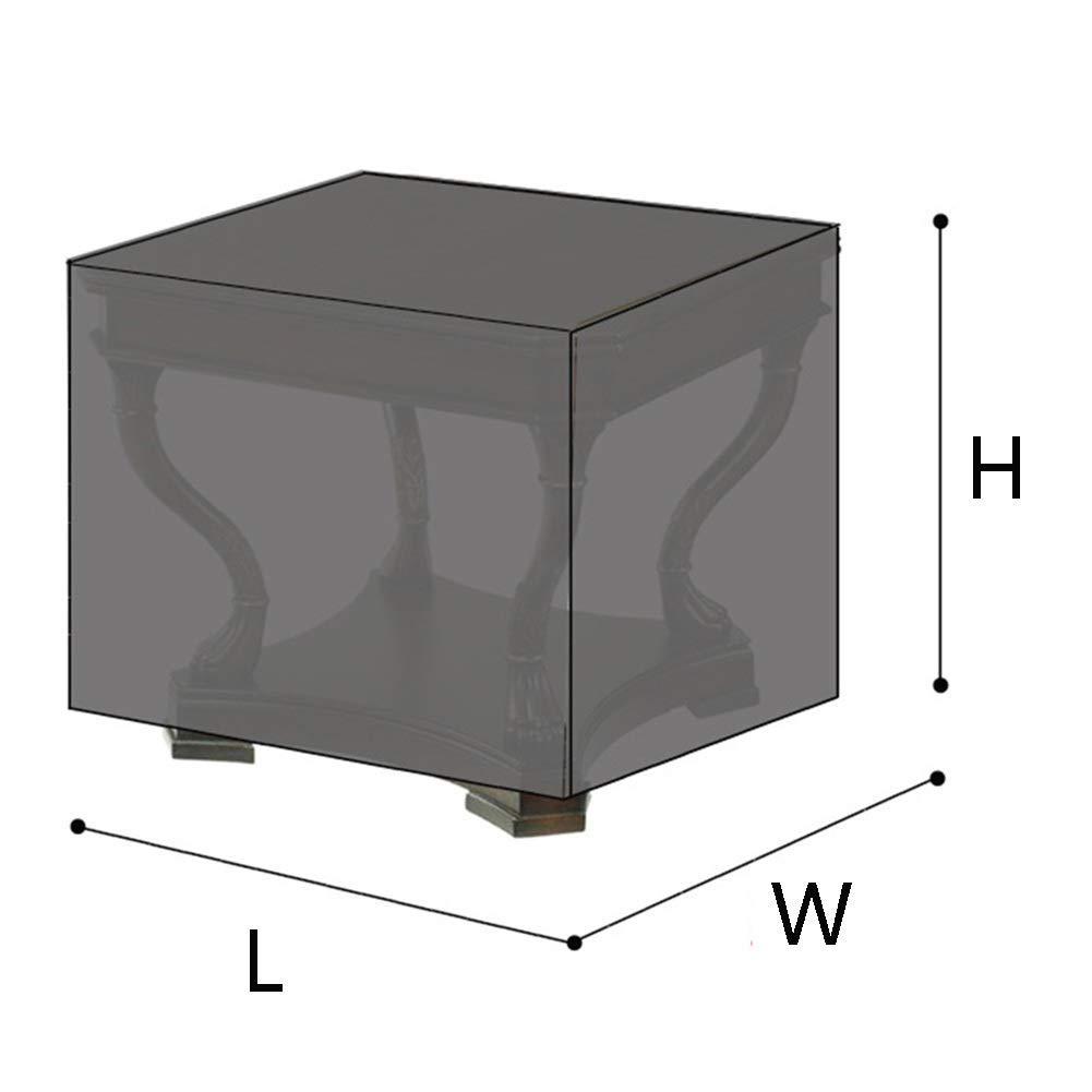 32 tailles Housses de protection for meubles Housses de protection for les meubles Housse de table carr/ée Int/érieur Protection respirante Protection anti-pluie Abat-jour en tissu Tissu Oxford Tissu