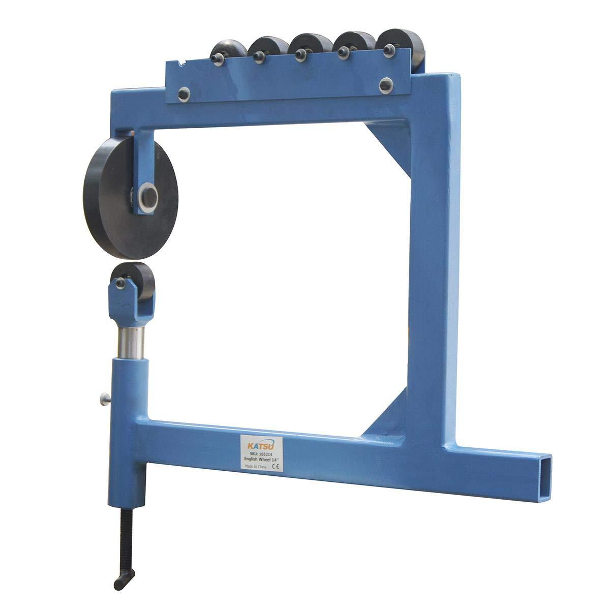 Rueda inglesa para conformaci/ón de chapa de metal de 0.8 mm y acero para conformado