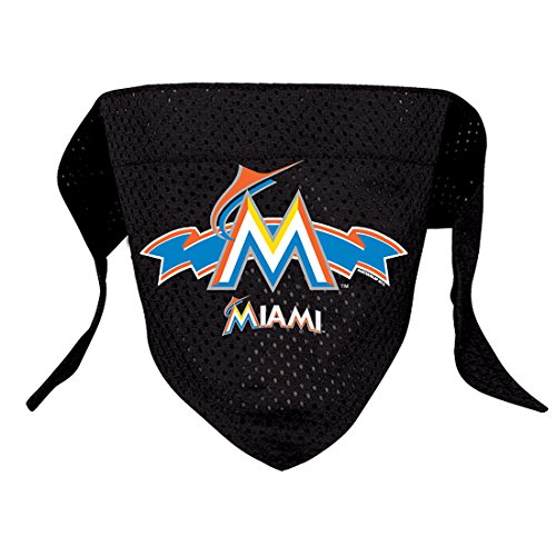 Hunter MFG Miami Marlins Mesh Dog Bandana, Small