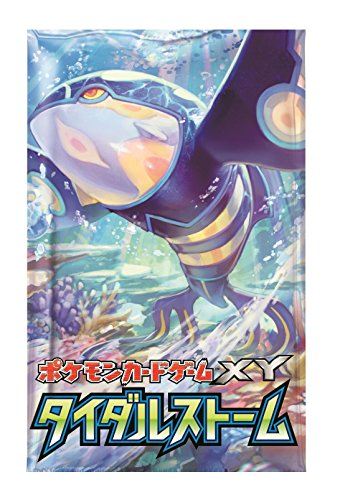 Nintendo Pokemon Card Game XY Booster Pack Box Tidal Storm Japanese Version