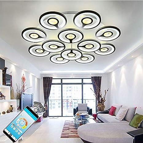 moderno Dormitorio salón de Candelabro Luz LED blanco kZTOXPiu