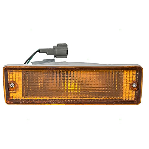 - Passengers Park Signal Front Marker Light Lamp Lens Replacement for Nissan Pickup Truck SUV B613041G02 AutoAndArt