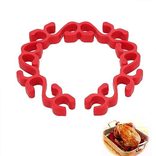 Kappha Cojín de cocción Flexible de Silicona para Hornear - Grasa Aislante - Cocción Saludable Carne Verdura Aves, 49x4x1.8 cm