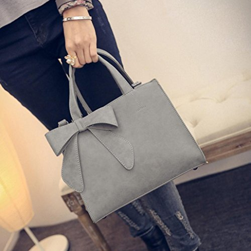 Beige Women's Shoulder Girl Hot Zipper Cute Women For Crossbody Bowknot Bag Bag For Messenger Pink Bag PU Handbag NXDA Leather HwCTdaqCz