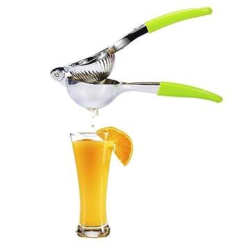 Barclay de la compra – Calidad Premium Exprimidor de limón exprimidor de acero inoxidable con asas