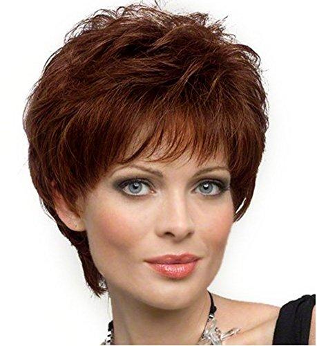 Diy Wig Beautiful Medium Auburn Elegant