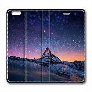 Galaxy Personalized Design Iphone 6 Leather Case Beautiful Starry Sky