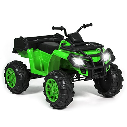 Kids 12V Ride On XL ATV Quad 4 Wheel Suspension MP3 Player S