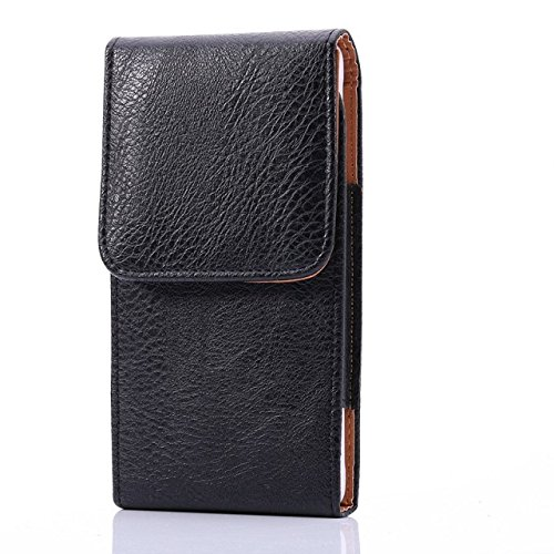 eBuymore Luxury PU Leather Vertical Belt Case Executive Holster for Samsung Galaxy J7 / iPhone 7 Plus / LG V20 / LG G Stylo 2 / Motorola Moto G4 / - Vertical Case Executive