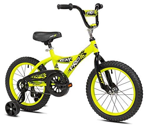 """KENT Boys Pro Bike, 16"""", Yellow"""