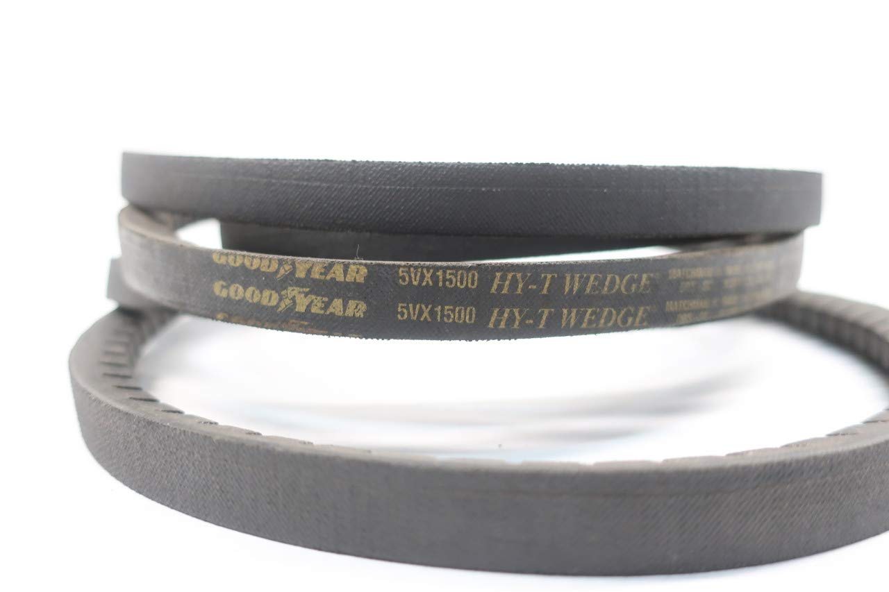 Goodyear 5VX1500 Hy-t Wedge Notched V-belt 150in X 5//8in