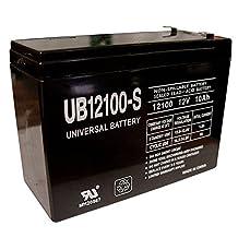 12V 10AH SLA Battery Replacement for Kaylee Bigfoot Monster Jeep