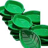 Fun Express Palm Leaf Serving Trays,2 Dozen