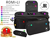 Romi-Li Universal Stroller Organizer – Designed for Convenience and Functionality – A Baby Stroller Organizer Made with Premium Quality Materials – Comes with A FREE Bonus Carabiner Hook