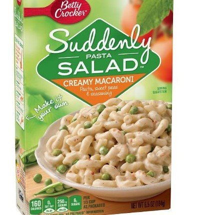 Betty Crocker Suddenly Pasta Salad Creamy Macaroni 65 oz 4 pack Creamy Macaroni 65 oz