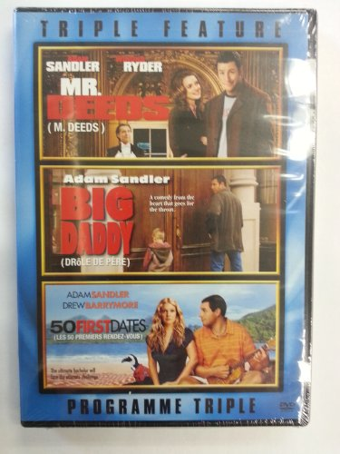 Mr. Deeds (F/S)/Big Daddy (WS)/50 First Dates (F/S) (Triple Feature)