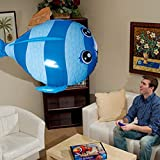 (New) Air Flying RC Remote Control Flying Shark Toy Kids LargeInflatable Air Swimmers Balloon Gift