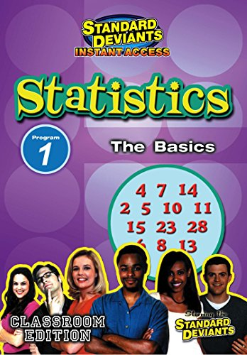 SDS Statistics Module 1: The Basics [Instant Access]