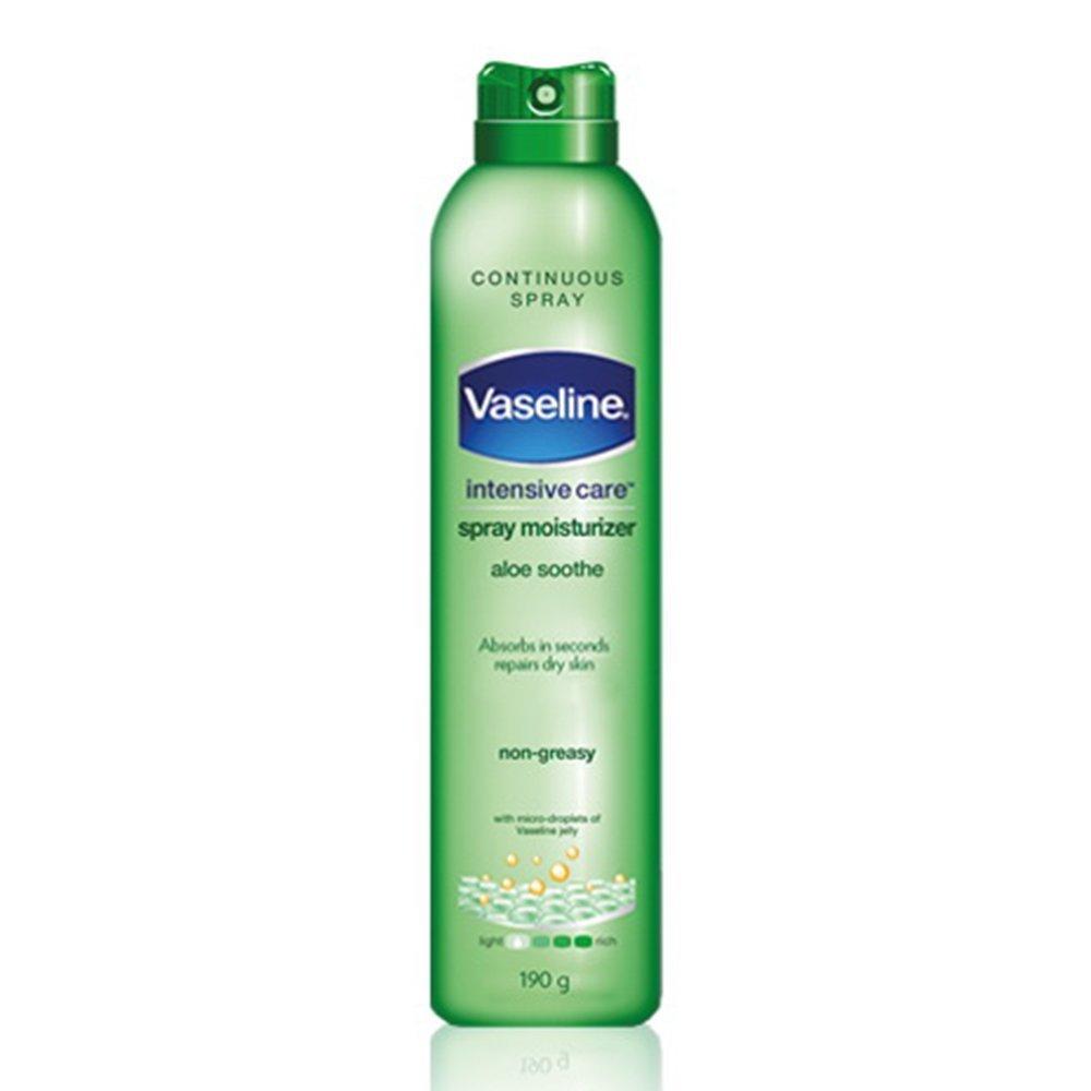Vaseline Spray & Go Moisturizer, Aloe Fresh, 6.5 oz by Vaseline