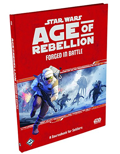 Star Wars: Age of Rebellion RPG -Forged in Battle Game