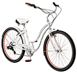 "Schwinn Womens Kalei Cruiser 26"" Wheel Bicycle White, Small Frame Size"