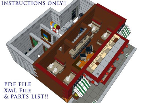 lego modular building instructions free