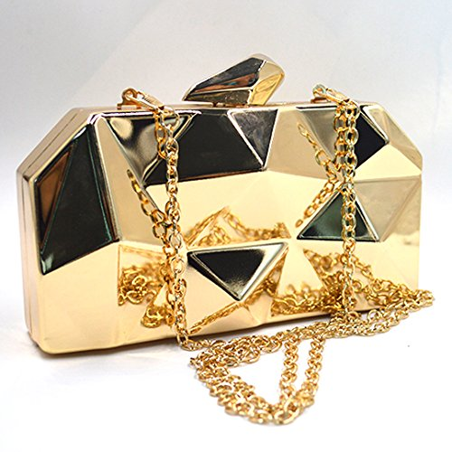 Cross Mini Purse Gold Evening Womens Bags Diamond Body Geometric Clutch Metal Pattern Meliya Bags Chain Handbag Gold THnCwxT6