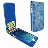 Piel Frama 689 Blue Crocodile Magnetic Leather Case for Apple iPhone 6 Plus / 6S Plus