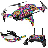 MightySkins Skin For DJI Max Coverage - Groovy 60s   Protective, Durable, and Unique Vinyl Decal wrap cover   Easy To Apply, Remove, and Change Styles   Made in the USA