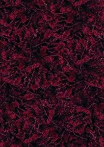 shaw area rugs ultra shag rug cranberry red rectangle
