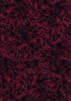 Shaw Area Rugs: Ultra Shag Rug: Cranberry Red 00800: 3'4''X5'6'' Rectangle