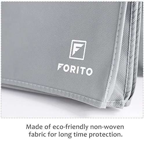 """20"""" 21.5"""" 22"""" Universal Computer Monitor Dust Cover, Nonwoven Fabric Dust-Proof and Mold-Proof Monitor Dust Cover for 19 Inch to 22 Inch LCD/LED HD Screen Panel (Size: 21W x 14H x 3D) -Gray"""