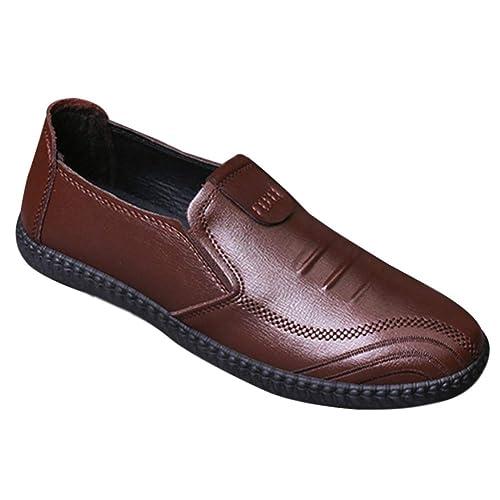 Daytwork Homme Chaussures Bateau Mocassins Plat Poids