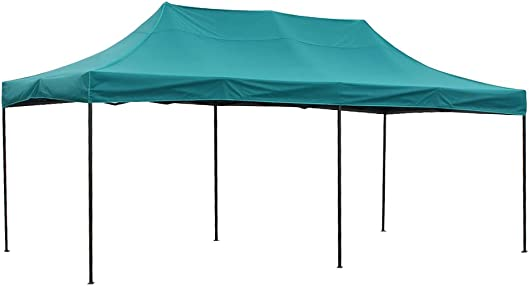 SIFTENT OTLIVE Pop Up Canopy Tent Commercial Car Shelters Wedding Party Event Outdoor Instant Folding Canopies 10×20 Feet, Teal