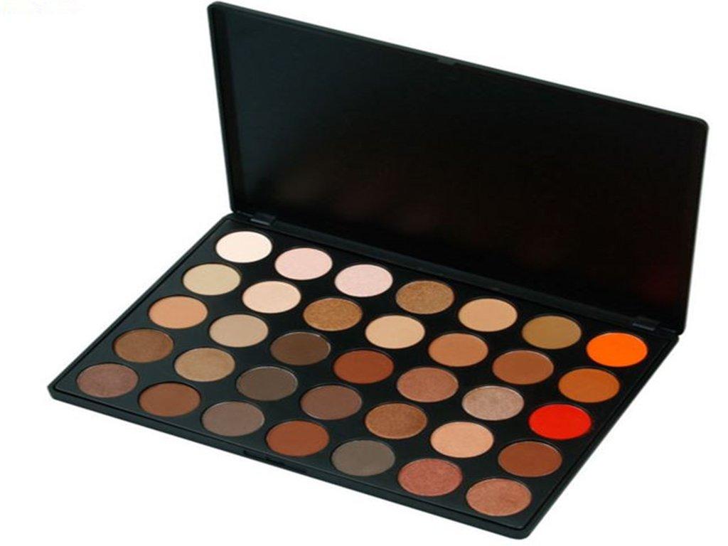 Pure Vie 35 Colori Palette Ombretti Cosmetico Tavolozza per Trucco Occhi - Adattabile a Uso Professionale che Privato