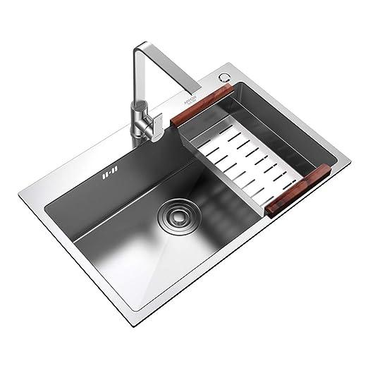 Xing Hua home Kücheninstallation Spüle Küche Einzelspüle Spüle ...